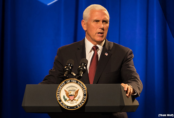 Vice President Pence Pledges to Aid Christians